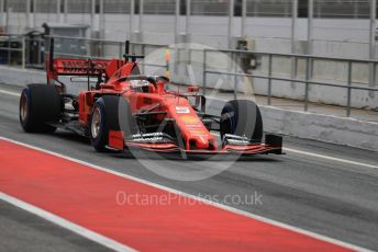 World © Octane Photographic Ltd. Formula 1 – Winter Testing - Test 1 - Day 3. Scuderia Ferrari SF90 – Sebastian Vettel. Circuit de Barcelona-Catalunya. Wednesday 20th February 2019.