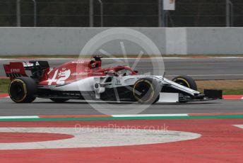 World © Octane Photographic Ltd. Formula 1 – Winter Testing - Test 1 - Day 3. Alfa Romeo Racing C38 – Kimi Raikkonen. Circuit de Barcelona-Catalunya. Wednesday 20th February 2019.