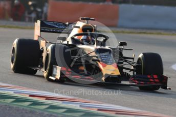 World © Octane Photographic Ltd. Formula 1 – Winter Testing - Test 1 - Day 3. Aston Martin Red Bull Racing RB15 – Max Verstappen. Circuit de Barcelona-Catalunya. Wednesday 20th February 2019.
