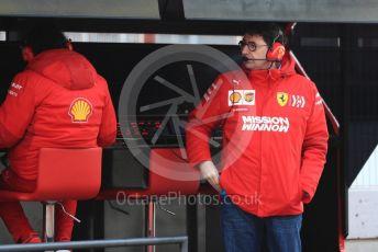 World © Octane Photographic Ltd. Formula 1 - Winter Testing - Test 1 - Day 4. Mattia Binotto – Team Principal of Scuderia Ferrari. Circuit de Barcelona-Catalunya. Thursday 21st February 2019