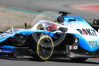 World © Octane Photographic Ltd. Formula 1 – Winter Testing - Test 1 - Day 4. ROKiT Williams Racing – Robert Kubica. Circuit de Barcelona-Catalunya. Thursday 21st February 2019.