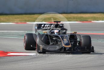 World © Octane Photographic Ltd. Formula 1 – Winter Testing - Test 1 - Day 4. Rich Energy Haas F1 Team VF19 – Romain Grosjean. Circuit de Barcelona-Catalunya. Thursday 21st February 2019.