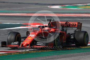 World © Octane Photographic Ltd. Formula 1 – Winter Testing - Test 1 - Day 4. Scuderia Ferrari SF90 – Charles Leclerc. Circuit de Barcelona-Catalunya. Thursday 21st February 2019.