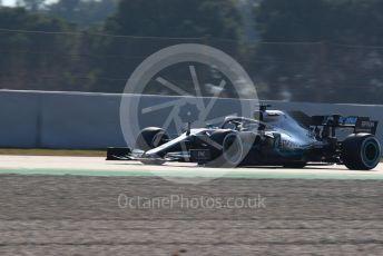World © Octane Photographic Ltd. Formula 1 – Winter Testing - Test 1 - Day 4. Mercedes AMG Petronas Motorsport AMG F1 W10 EQ Power+ - Valtteri Bottas. Circuit de Barcelona-Catalunya. Thursday 21st February 2019.