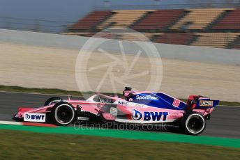 World © Octane Photographic Ltd. Formula 1 – Winter Testing - Test 1 - Day 4. SportPesa Racing Point RP19 – Lance Stroll. Circuit de Barcelona-Catalunya. Thursday 21st February 2019.