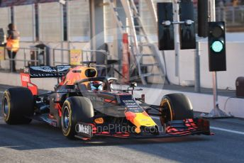 World © Octane Photographic Ltd. Formula 1 – Winter Testing - Test 2 - Day 1. Aston Martin Red Bull Racing RB15 – Pierre Gasly. Circuit de Barcelona-Catalunya. Tuesday 26th February 2019.