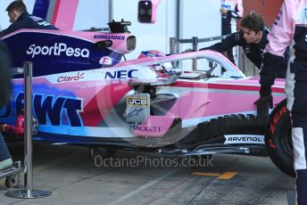 World © Octane Photographic Ltd. Formula 1 – Winter Testing - Test 2 - Day 1. SportPesa Racing Point RP19 – Lance Stroll. Circuit de Barcelona-Catalunya. Tuesday 26th February 2019.