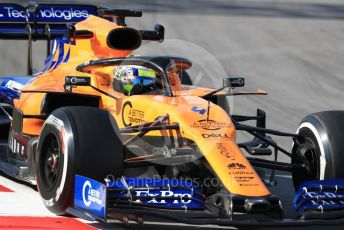 World © Octane Photographic Ltd. Formula 1 – Winter Testing - Test 2 - Day 1. McLaren MCL34 – Lando Norris. Circuit de Barcelona-Catalunya. Tuesday 26th February 2019.