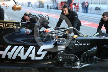 World © Octane Photographic Ltd. Formula 1 – Winter Testing - Test 2 - Day 2. Rich Energy Haas F1 Team VF19 – Romain Grosjean. Circuit de Barcelona-Catalunya. Wednesday 27th February 2019.