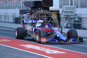 World © Octane Photographic Ltd. Formula 1 – Winter Testing - Test 2 - Day 2. Scuderia Toro Rosso STR14 – Daniil Kvyat. Circuit de Barcelona-Catalunya. Wednesday 27th February 2019.