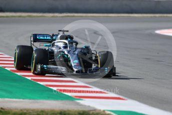 World © Octane Photographic Ltd. Formula 1 – Winter Testing - Test 2 - Day 2. Mercedes AMG Petronas Motorsport AMG F1 W10 EQ Power+ - Valtteri Bottas. Circuit de Barcelona-Catalunya. Wednesday 27th February 2019.