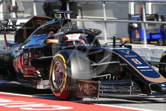 World © Octane Photographic Ltd. Formula 1 – Winter Testing - Test 2 - Day 2. Rich Energy Haas F1 Team VF19 – Romain Grosjean. Circuit de Barcelona-Catalunya. Wednesday 27th February 2019.
