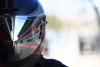 World © Octane Photographic Ltd. Formula 1 – Winter Testing - Test 2 - Day 2. Mercedes AMG Petronas Motorsport AMG F1 W10 EQ Power+ - Lewis Hamilton pit team waiting for him to pit. Circuit de Barcelona-Catalunya. Wednesday 27th February 2019.