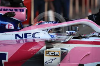 World © Octane Photographic Ltd. Formula 1 – Winter Testing - Test 2 - Day 2. SportPesa Racing Point RP19 - Sergio Perez. Circuit de Barcelona-Catalunya. Wednesday 27th February 2019.
