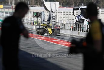 World © Octane Photographic Ltd. Formula 1 – Winter Testing - Test 2 - Day 2. Renault Sport F1 Team RS19 – Nico Hulkenberg. Circuit de Barcelona-Catalunya. Wednesday 27th February 2019.