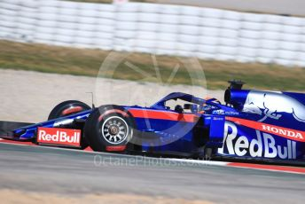World © Octane Photographic Ltd. Formula 1 – Winter Testing - Test 2 - Day 3. Scuderia Toro Rosso STR14 – Alexander Albon. Circuit de Barcelona-Catalunya. Thursday 28th February 2019.