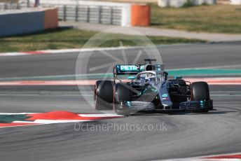 World © Octane Photographic Ltd. Formula 1 – Winter Testing - Test 2 - Day 4. Mercedes AMG Petronas Motorsport AMG F1 W10 EQ Power+ - Valtteri Bottas. Circuit de Barcelona-Catalunya. Friday 1st March 2019.
