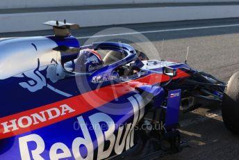 World © Octane Photographic Ltd. Formula 1 – Winter Testing - Test 2 - Day 4. Scuderia Toro Rosso STR14 – Daniil Kvyat. Circuit de Barcelona-Catalunya. Friday 1st March 2019.