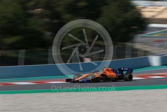 World © Octane Photographic Ltd. Formula 1 – Winter Testing - Test 2 - Day 4. McLaren MCL34 – Carlos Sainz. Circuit de Barcelona-Catalunya. Friday 1st March 2019.