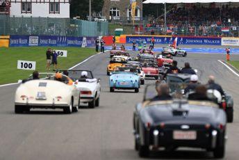 World © Octane Photographic Ltd. Formula 1 - Belgium GP - Drivers Parade. Anthoine Hubert tribute. Circuit de Spa Francorchamps, Belgium. Sunday 1st September 2019.