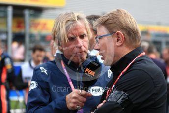 World © Octane Photographic Ltd. Formula 1 – Belgium GP - Grid. Mika Hakkinen. Circuit de Spa Francorchamps, Belgium. Sunday 1st September 2019.