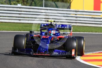 World © Octane Photographic Ltd. Formula 1 – Belgium GP - Practice 1. Scuderia Toro Rosso - Pierre Gasly. Circuit de Spa Francorchamps, Belgium. Friday 30th August 2019.