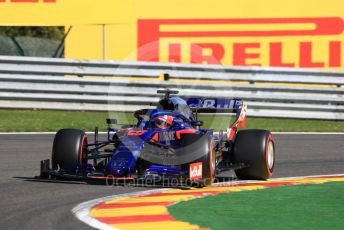 World © Octane Photographic Ltd. Formula 1 – Belgium GP - Practice 1. Scuderia Toro Rosso STR14 – Daniil Kvyat. Circuit de Spa Francorchamps, Belgium. Friday 30th August 2019.