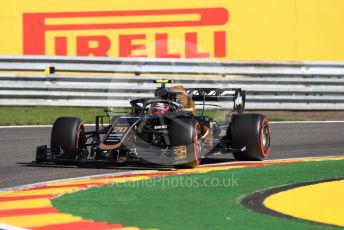 World © Octane Photographic Ltd. Formula 1 – Belgium GP - Practice 1. Rich Energy Haas F1 Team VF19 – Kevin Magnussen. Circuit de Spa Francorchamps, Belgium. Friday 30th August 2019.