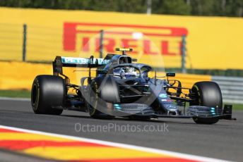 World © Octane Photographic Ltd. Formula 1 – Belgium GP - Practice 1. Mercedes AMG Petronas Motorsport AMG F1 W10 EQ Power+ - Valtteri Bottas. Circuit de Spa Francorchamps, Belgium. Friday 30th August 2019.