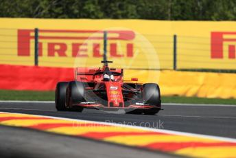 World © Octane Photographic Ltd. Formula 1 – Belgium GP - Practice 1. Scuderia Ferrari SF90 – Sebastian Vettel. Circuit de Spa Francorchamps, Belgium. Friday 30th August 2019.