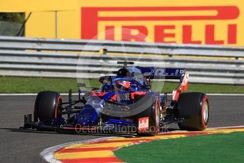 World © Octane Photographic Ltd. Formula 1 – Belgium GP - Practice 1. Scuderia Toro Rosso STR14 – Daniil Kvyat. Circuit de Spa Francorchamps, Belgium. Friday 30th August 2019.