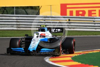 World © Octane Photographic Ltd. Formula 1 – Belgium GP - Practice 1. ROKiT Williams Racing FW42 – Robert Kubica. Circuit de Spa Francorchamps, Belgium. Friday 30th August 2019.