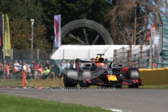 World © Octane Photographic Ltd. Formula 1 – Belgium GP - Practice 2. Aston Martin Red Bull Racing RB15 – Max Verstappen. Circuit de Spa Francorchamps, Belgium. Friday 30th August 2019.