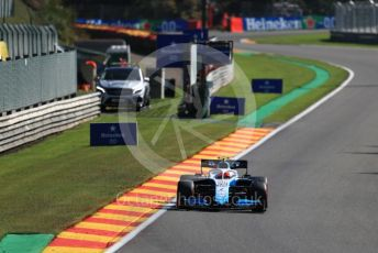 World © Octane Photographic Ltd. Formula 1 – Belgium GP - Practice 2. ROKiT Williams Racing FW42 – Robert Kubica. Circuit de Spa Francorchamps, Belgium. Friday 30th August 2019.