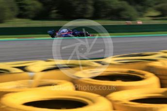 World © Octane Photographic Ltd. Formula 1 – Belgium GP - Practice 2. Scuderia Toro Rosso STR14 – Daniil Kvyat. Circuit de Spa Francorchamps, Belgium. Friday 30th August 2019.