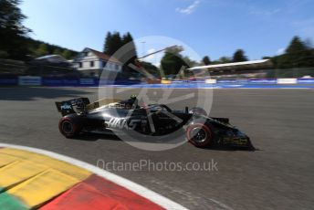 World © Octane Photographic Ltd. Formula 1 – Belgium GP - Qualifying. Rich Energy Haas F1 Team VF19 – Kevin Magnussen. Circuit de Spa Francorchamps, Belgium. Saturday 31st August 2019.