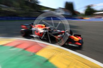 World © Octane Photographic Ltd. Formula 1 – Belgium GP - Qualifying. Aston Martin Red Bull Racing RB15 – Max Verstappen. Circuit de Spa Francorchamps, Belgium. Saturday 31st August 2019.