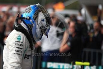 World © Octane Photographic Ltd. Formula 1 – Belgium GP - Race Podium. Mercedes AMG Petronas Motorsport AMG F1 W10 EQ Power+ - Valtteri Bottas. Circuit de Spa Francorchamps, Belgium. Sunday 1st September 2019.