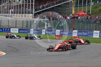 World © Octane Photographic Ltd. Formula 1 – Belgium GP - Race. Scuderia Ferrari SF90 – Charles Leclerc. Circuit de Spa Francorchamps, Belgium. Sunday 1st September 2019.