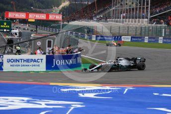 World © Octane Photographic Ltd. Formula 1 – Belgium GP - Race. Mercedes AMG Petronas Motorsport AMG F1 W10 EQ Power+ - Lewis Hamilton. Circuit de Spa Francorchamps, Belgium. Sunday 1st September 2019.