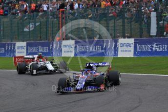 World © Octane Photographic Ltd. Formula 1 – Belgium GP - Race. Scuderia Toro Rosso STR14 – Daniil Kvyat. Circuit de Spa Francorchamps, Belgium. Sunday 1st September 2019.