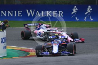 World © Octane Photographic Ltd. Formula 1 – Belgium GP - Race. Scuderia Toro Rosso - Pierre Gasly. Circuit de Spa Francorchamps, Belgium. Sunday 1st September 2019.