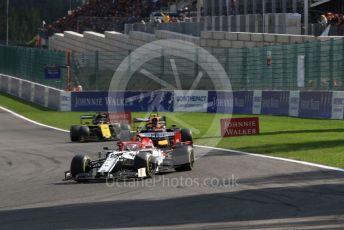 World © Octane Photographic Ltd. Formula 1 – Belgium GP - Race. Alfa Romeo Racing C38 – Antonio Giovinazzi. Circuit de Spa Francorchamps, Belgium. Sunday 1st September 2019.