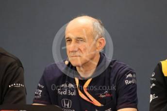 World © Octane Photographic Ltd. Formula 1 - Hungarian GP – Friday FIA Team Press Conference. Franz Tost – Team Principal of Scuderia Toro Rosso. Circuit de Spa Francorchamps, Belgium. Friday 29th August 2019.