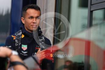 World © Octane Photographic Ltd. Formula 1 – Belgium GP - Paddock. Aston Martin Red Bull Racing RB15 – Alexander Albon. Circuit de Spa Francorchamps, Belgium. Thursday 28th August 2019.