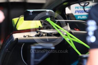 World © Octane Photographic Ltd. Formula 1 – Belgium GP - Pit Lane. Mercedes AMG Petronas Motorsport AMG F1 W10 EQ Power+. Circuit de Spa Francorchamps, Belgium. Thursday 28th August 2019.