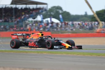 World © Octane Photographic Ltd. Formula 1 – British GP - Qualifying. Aston Martin Red Bull Racing RB15 – Max Verstappen. Silverstone Circuit, Towcester, Northamptonshire. Saturday 13th July 2019.