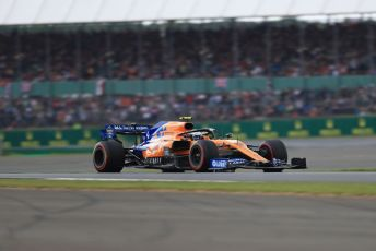 World © Octane Photographic Ltd. Formula 1 – British GP - Qualifying. McLaren MCL34 – Lando Norris. Silverstone Circuit, Towcester, Northamptonshire. Saturday 13th July 2019.
