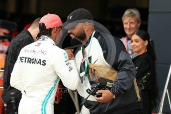 World © Octane Photographic Ltd. Formula 1 – British GP - Qualifying. Mercedes AMG Petronas Motorsport AMG F1 W10 EQ Power+ - Lewis Hamilton. Silverstone Circuit, Towcester, Northamptonshire. Saturday 13th July 2019.