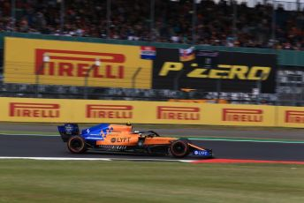 World © Octane Photographic Ltd. Formula 1 – British GP - Qualifying. McLaren MCL34 – Lando Norris. Silverstone Circuit, Towcester, Northamptonshire. Saturday 13th July 2019.